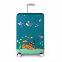 Калъф за куфар Море За големи  среден размер